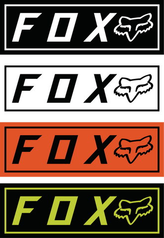 Fox Racing Fox Bumper Stickers