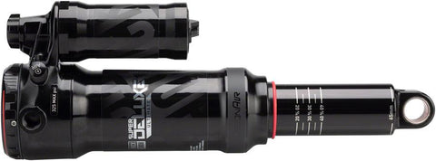 ROCKSHOX REAR SHOCK SUPER DELUXE ULTIMATE RCT (205X65) DEBONAIR, 3.5 TOKENS, LREB/LCOMP, 320LB LOCKOUTFORCE, TRUNNION STANDARD (INCLUDES 8X25 MOUNTING HARDWARE) 2018+ TRANSITION PATROL V2