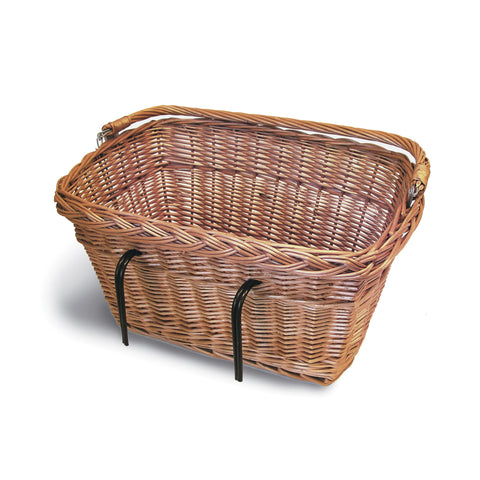 Basil Davos Wicker Rectangular Hook-On Front Basket
