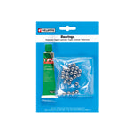 Weldtite 1/4 Ball Bearings & Grease (24 Balls)