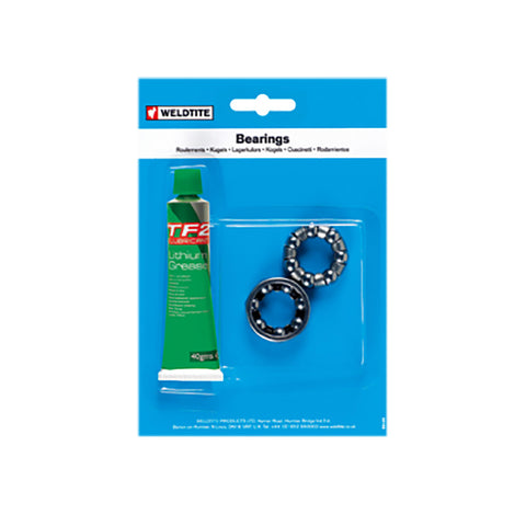 Weldtite 1/4 Bb Cages & Grease