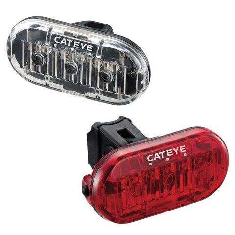 Cateye Omni 3 Front & Rear Light Set