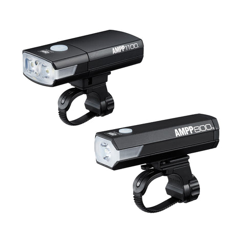 CATEYE AMPP 1100 / AMPP 800 COMBO LIGHT SET