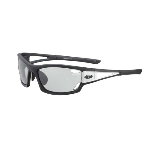 TIFOSI DOLOMITE 2.0 BLACK/WHITE FOTOTEC LIGHT NIGHT LENS SUNGLASSES