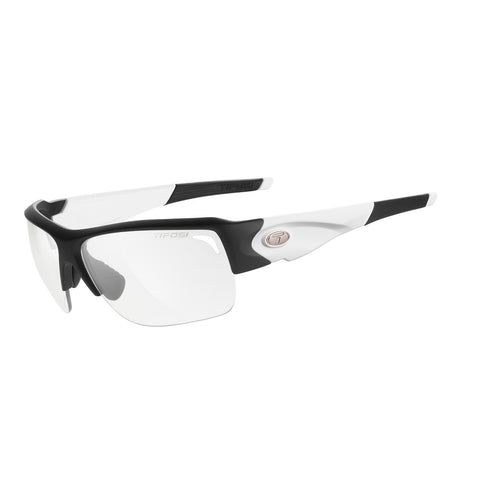 TIFOSI ELDER BLACK/WHITE FOTOTEC LIGHT NIGHT LENS SUNGLASSES