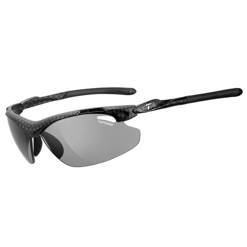 TIFOSI TYRANT 2.0 CARBON POLARISED FOTOTEC PHOTOCHROMIC SMOKE LENS SUNGLASSES