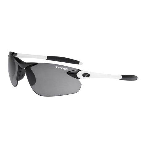 TIFOSI SEEK FC WHITE/BLACK FOTOTEC SMOKE LENS SUNGLASSES