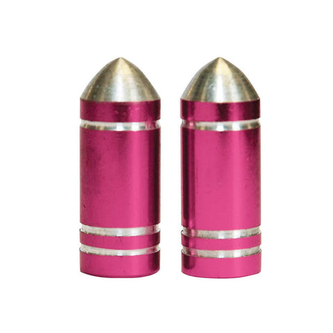 Weldtitepink Bullet Novelty Bike Valve Caps