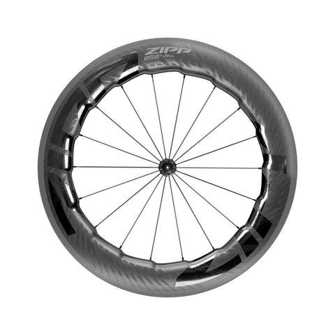 Zipp 858 Nsw Carbon Tubeless Rim Brake Front Wheel A1