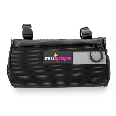 MISS GRAPE MOON H/BAR BAG BLK
