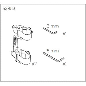 Thule Pack'n Pedal bracket kit