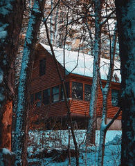 Cabin in the backwoods of Maine