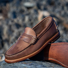 Beefroll Penny Loafer Natural Chromexcel