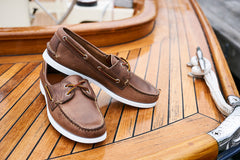 Read Boat Shoe Natural Chromexcel