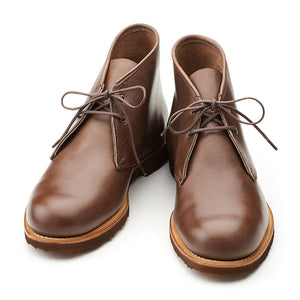 Blake Chukka - Dark Brown Bulldog