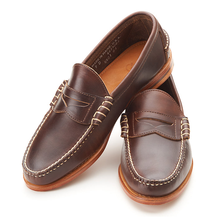 Beefroll Penny Loafers - Carolina Brown Chromexcel