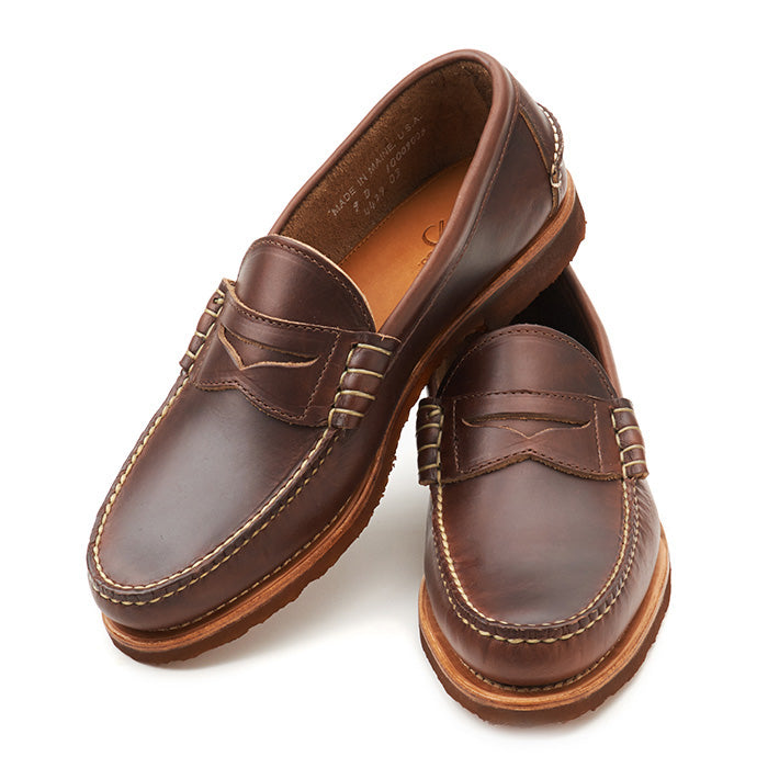 Beefroll Penny Loafers LH - Carolina Brown Chromexcel