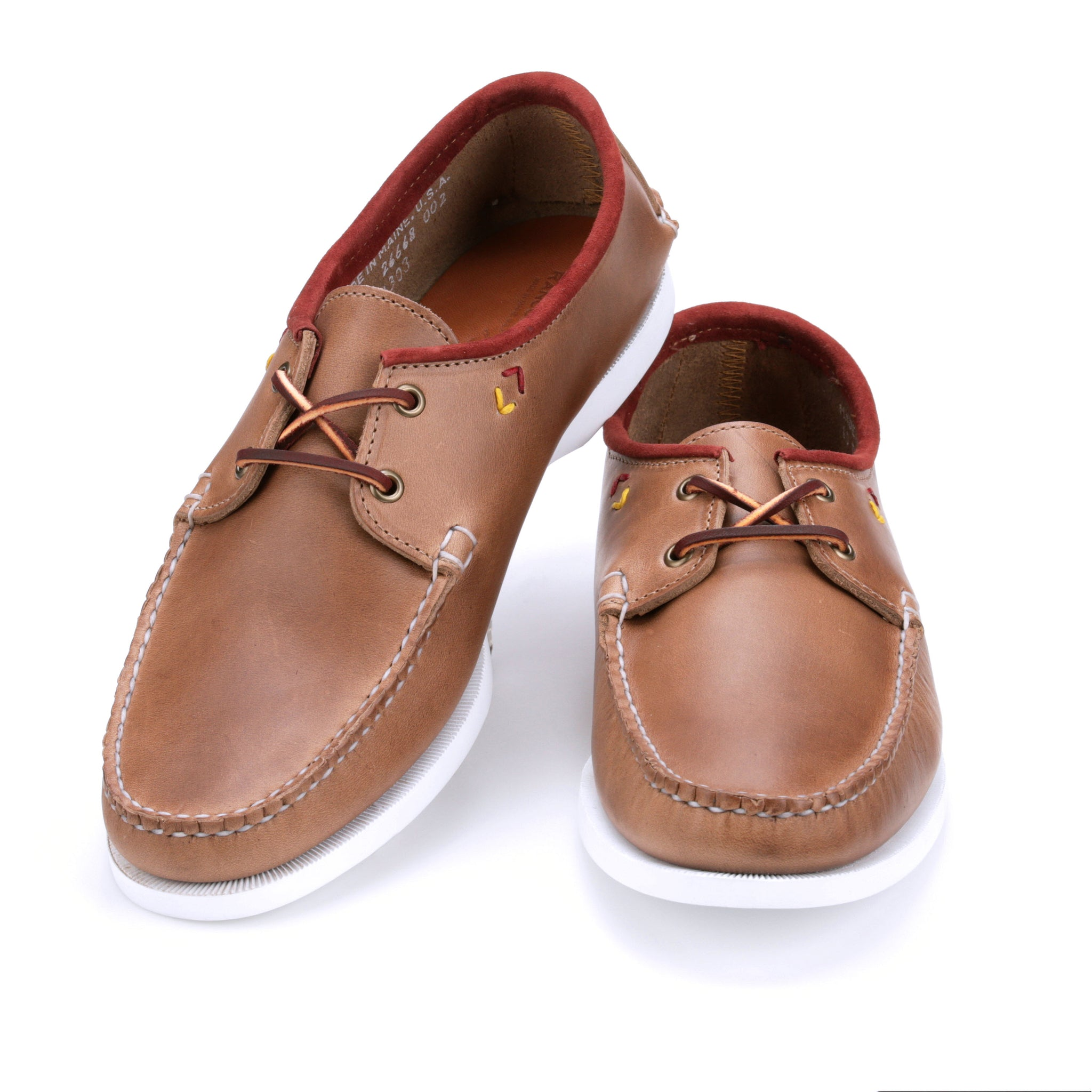 Harbor Boat Shoe - Natural Chromexcel