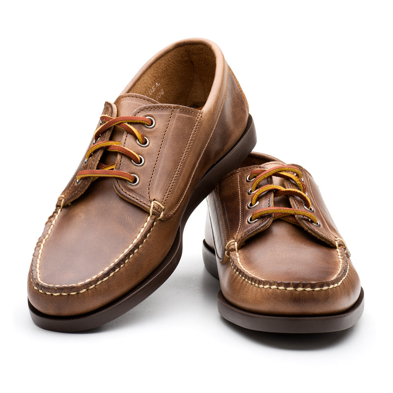 Classic Ranger-moc - Natural Chromexcel w/brown sole