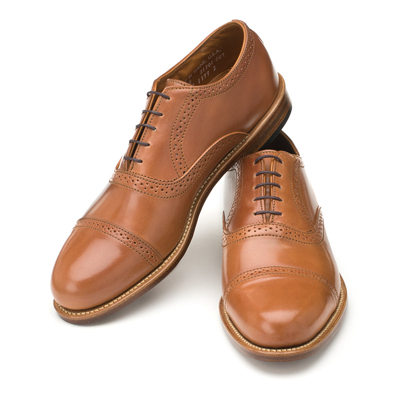 Bartlett Oxford - Caramel Shell Cordovan