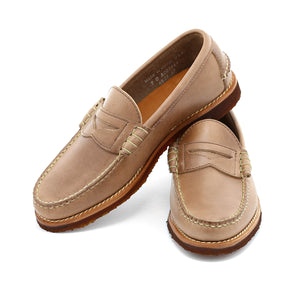 Beefroll Penny Loafers LH - Natural Chromexcel