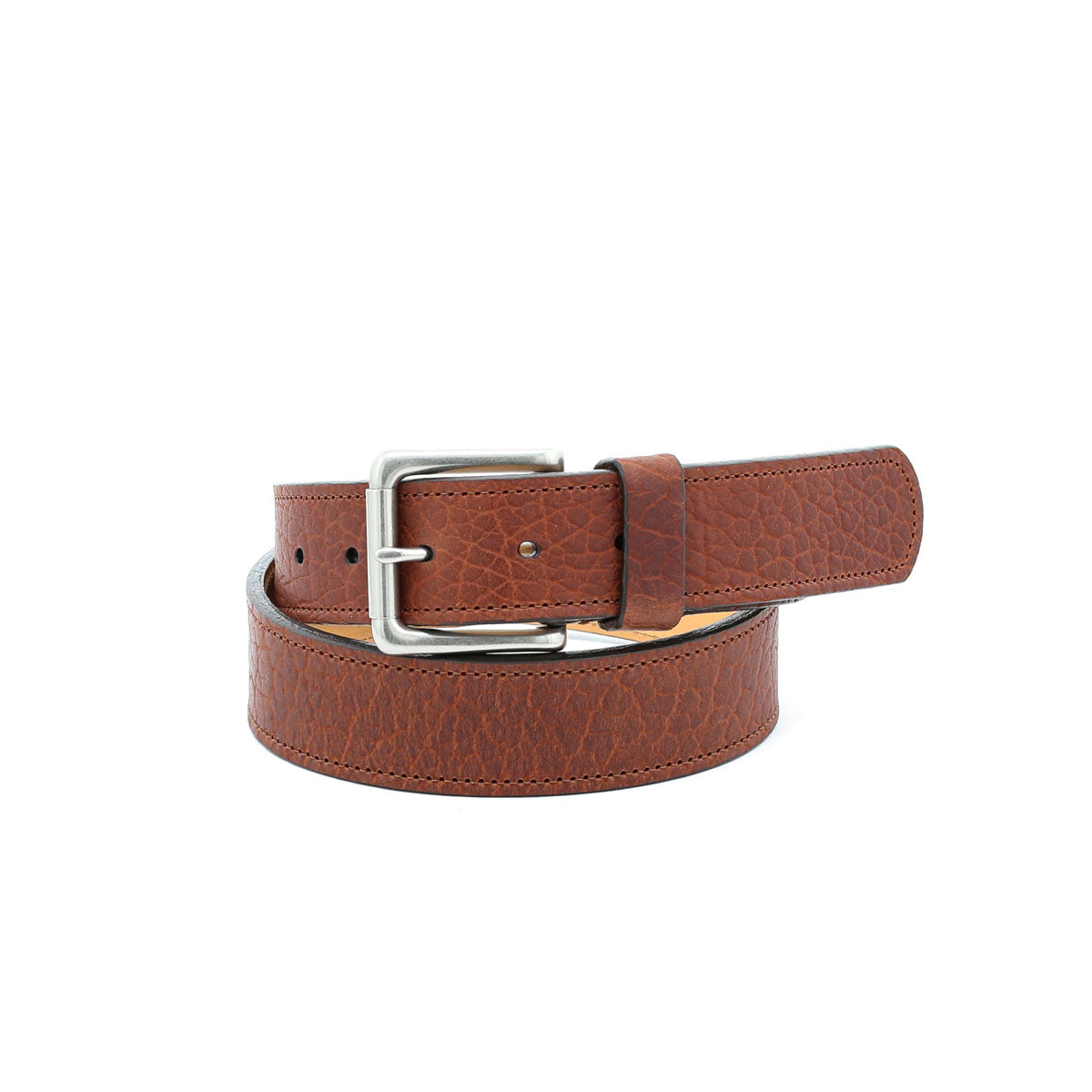 Shrunken Grain Bison Belt