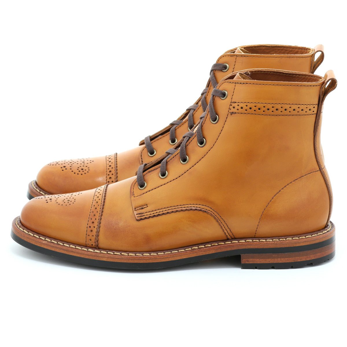 Brighton Boot - Amber Calf
