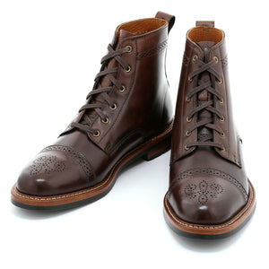 Brighton Boot - Dark Brown Calf