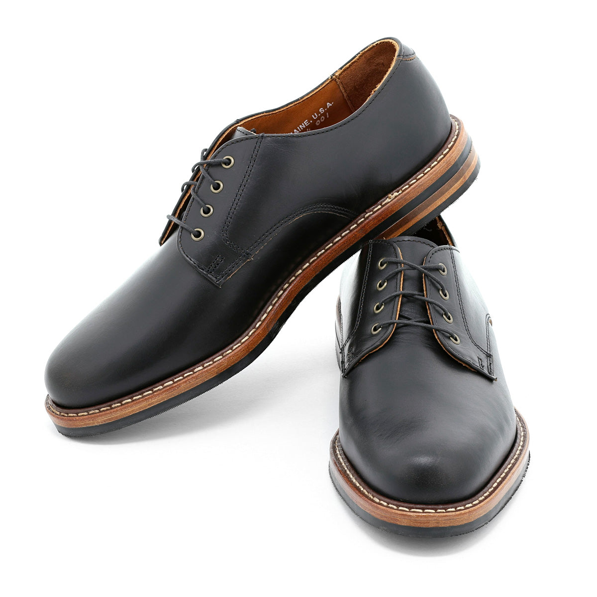 Camden Derby - Black Chromexcel