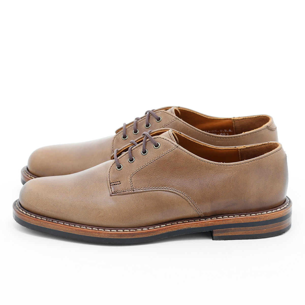 Camden Derby - Natural Chromexcel