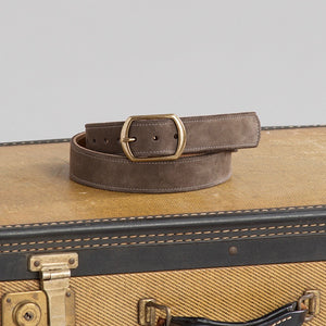 Flint Kudu Suede Belt
