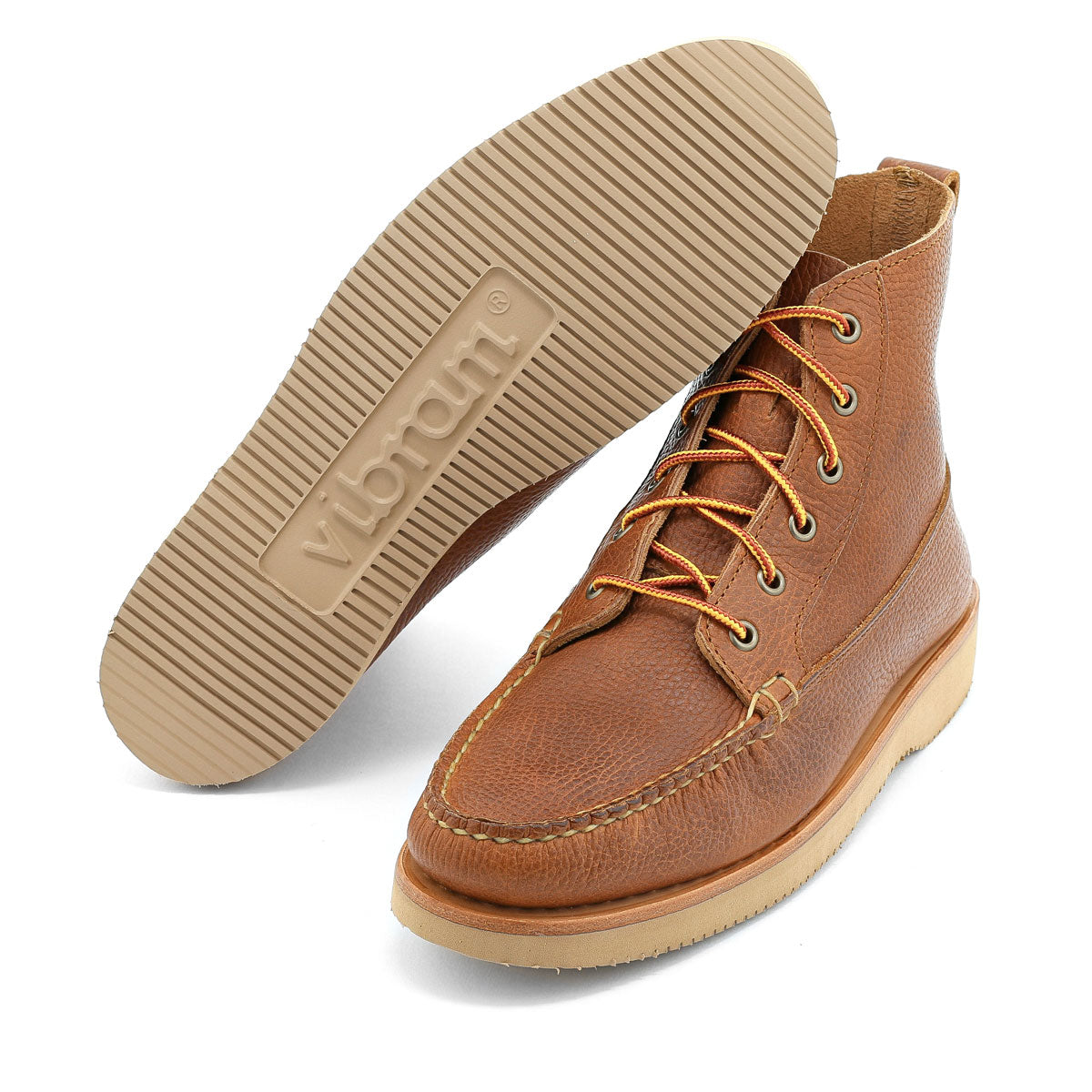 Dirigo Handsewn Boot - Tan Pebble Grain