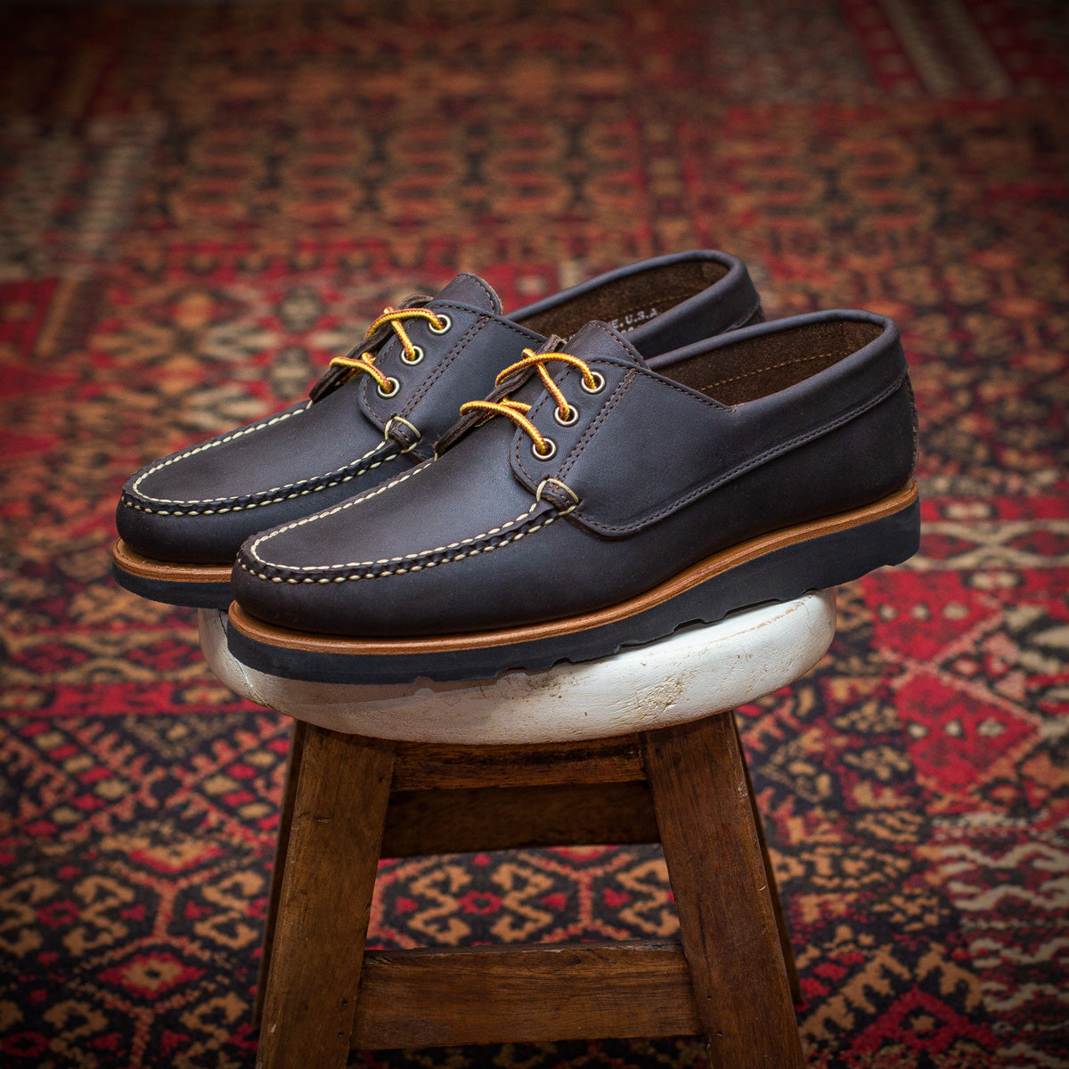 Dirigo Ranger-moc - Dark Brown Horween Oiled Kudu