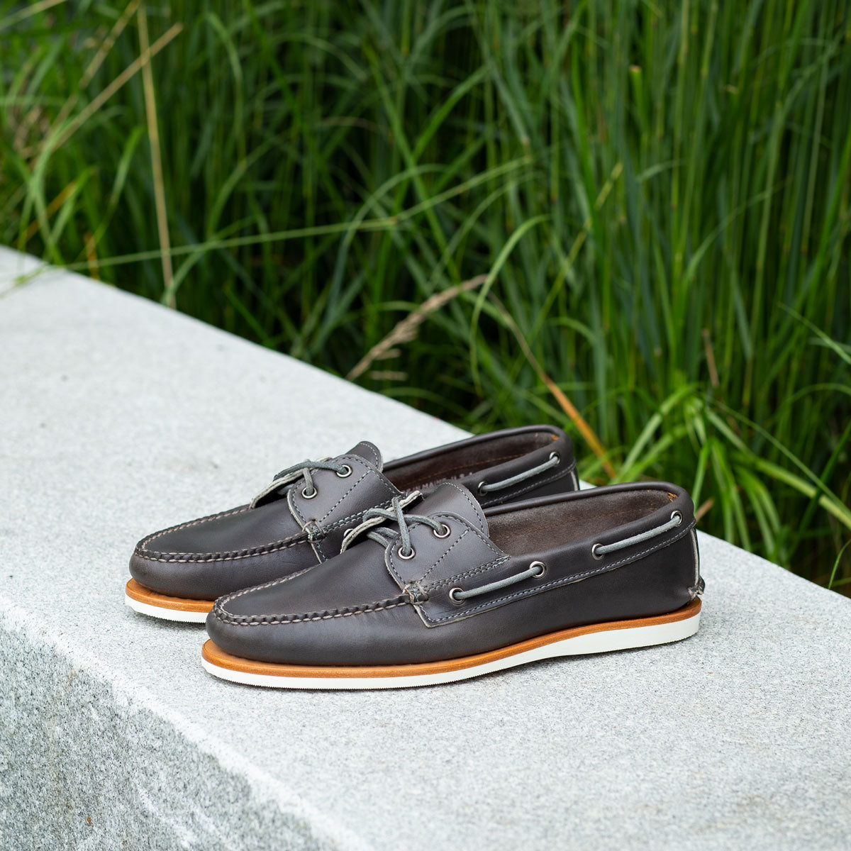 Dirigo Boat Shoe - Gray Chromexcel