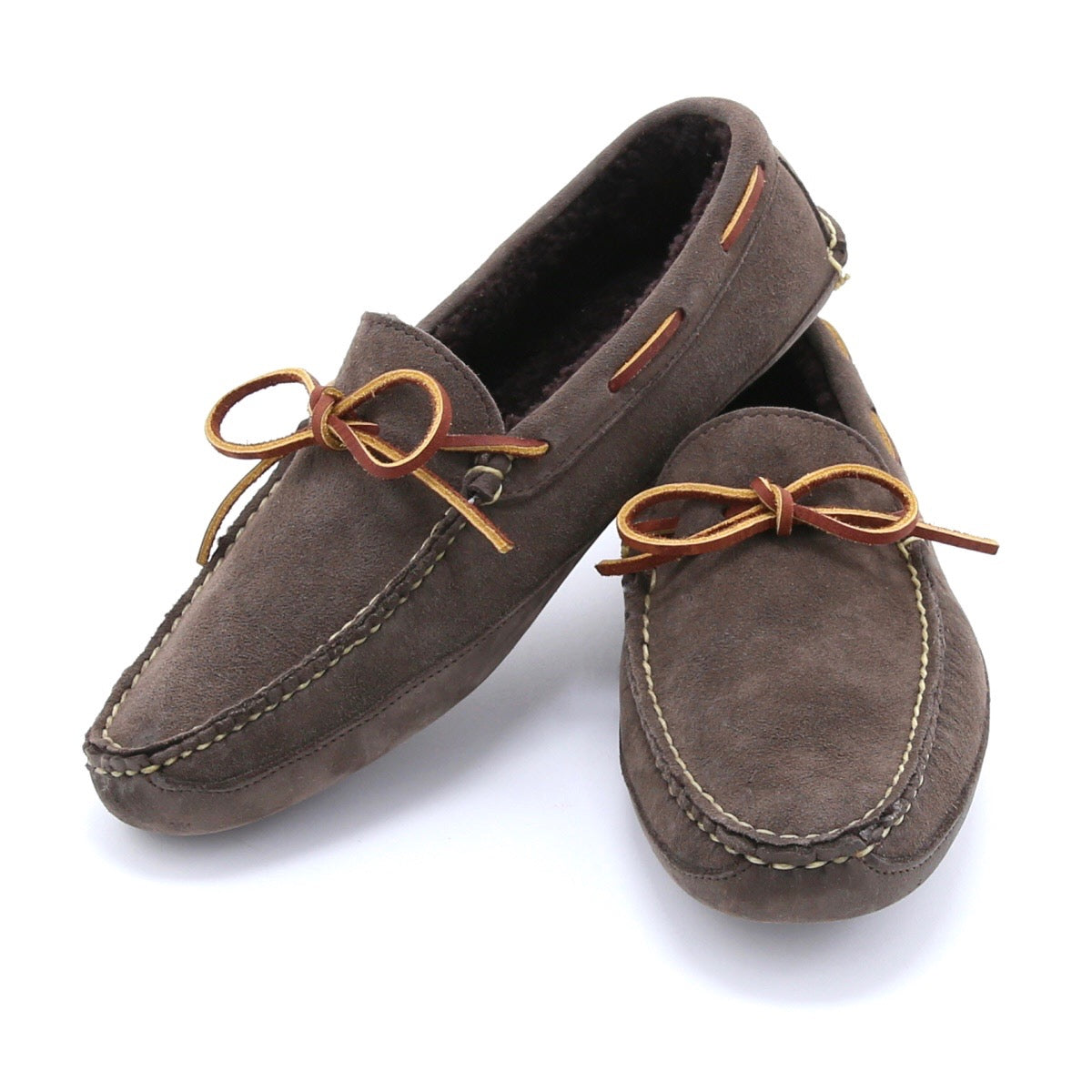 Freeman Slipper - Flint Kudu Suede