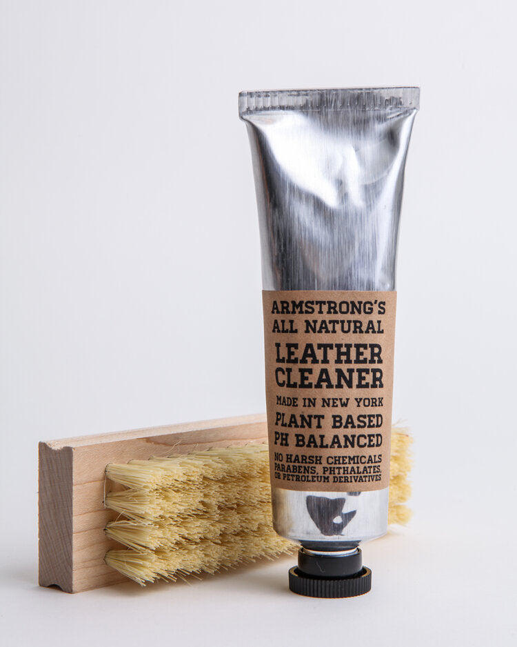 Armstrong's Leather Cleaner + Scrub Brush