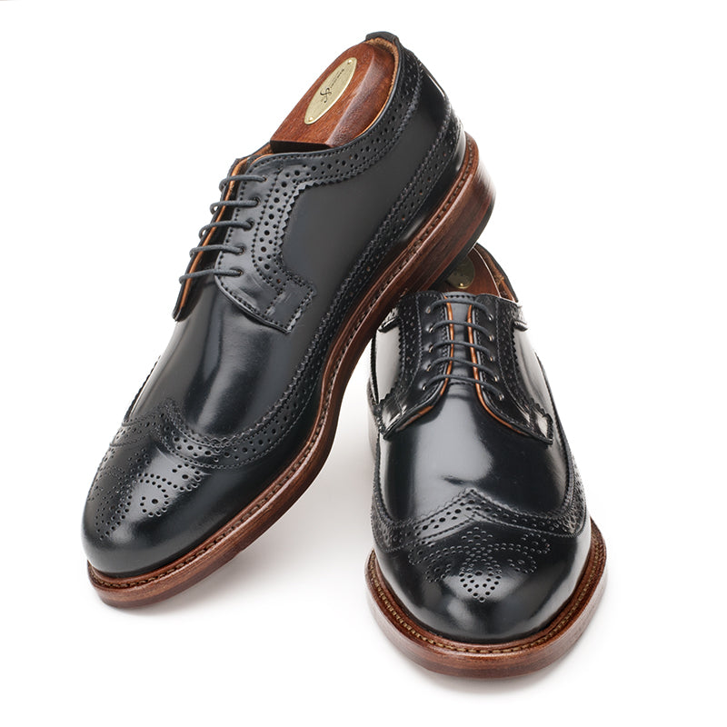 Chandler Longwing - Black Shell Cordovan