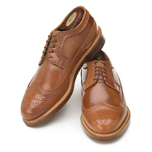 Chandler Longwing - Caramel Shell Cordovan