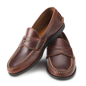 Pinch Penny Loafers - Carolina Brown Chromexcel