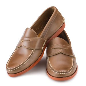 Pinch Penny Loafers - Natural Chromexcel