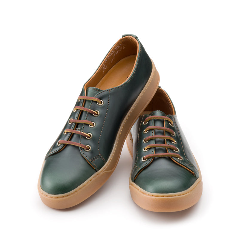 Heritage Court Classic Low - Green Chromexcel