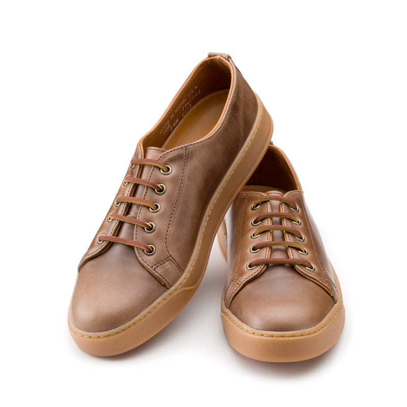 Heritage Court Classic Low - Natural Chromexcel