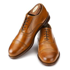 Bartlett Oxford - Amber Calf