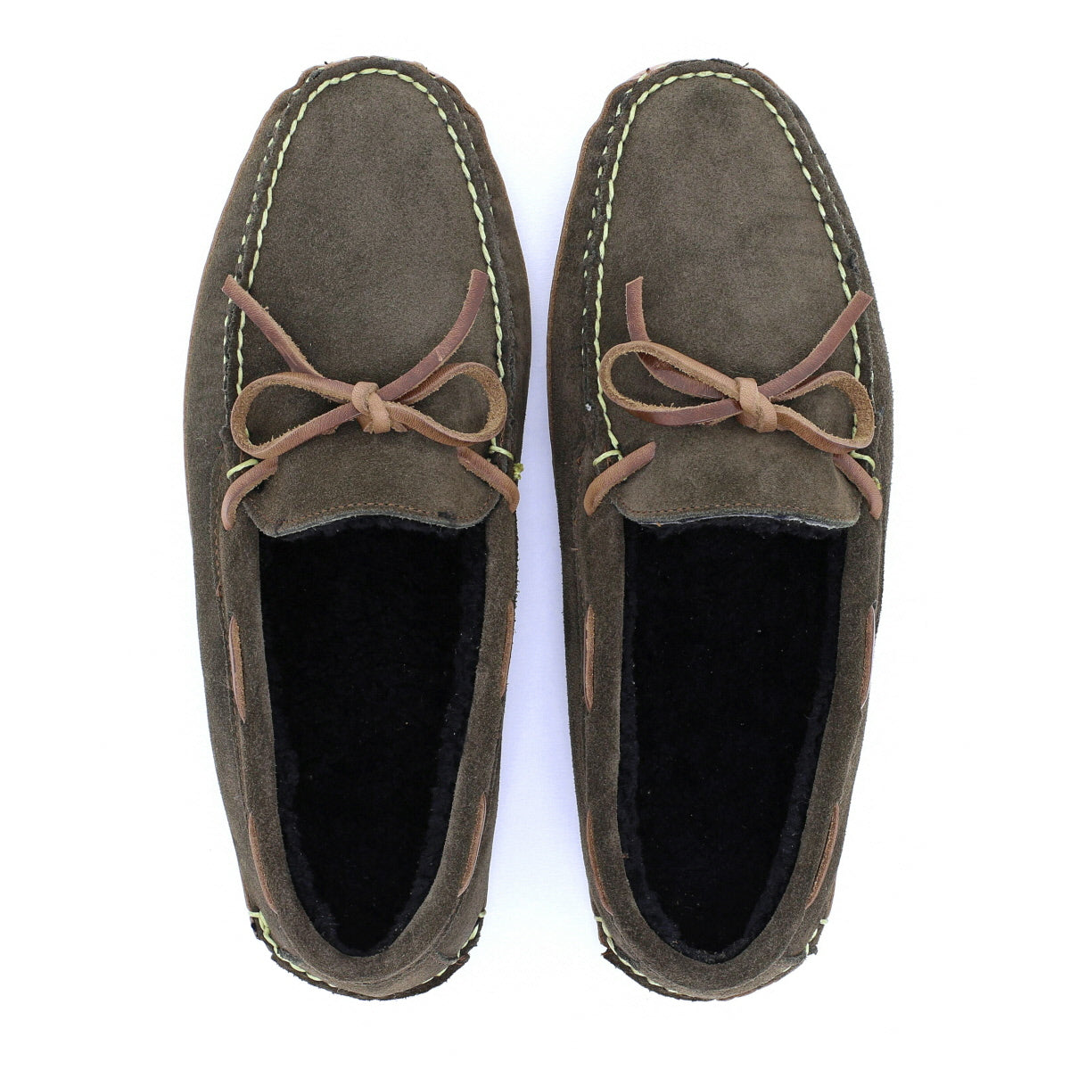 Redington Slipper - Loden Suede / Natural Chromexcel