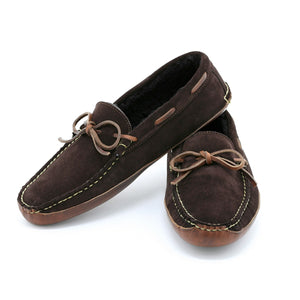 Redington Slipper - Dark Brown Suede / Carolina Brown Chromexcel