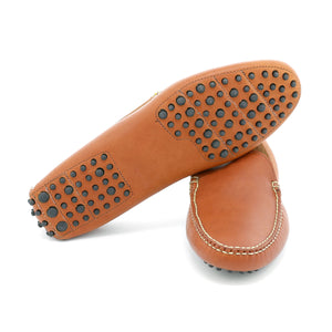 Venetian House Shoe - Tan Essex