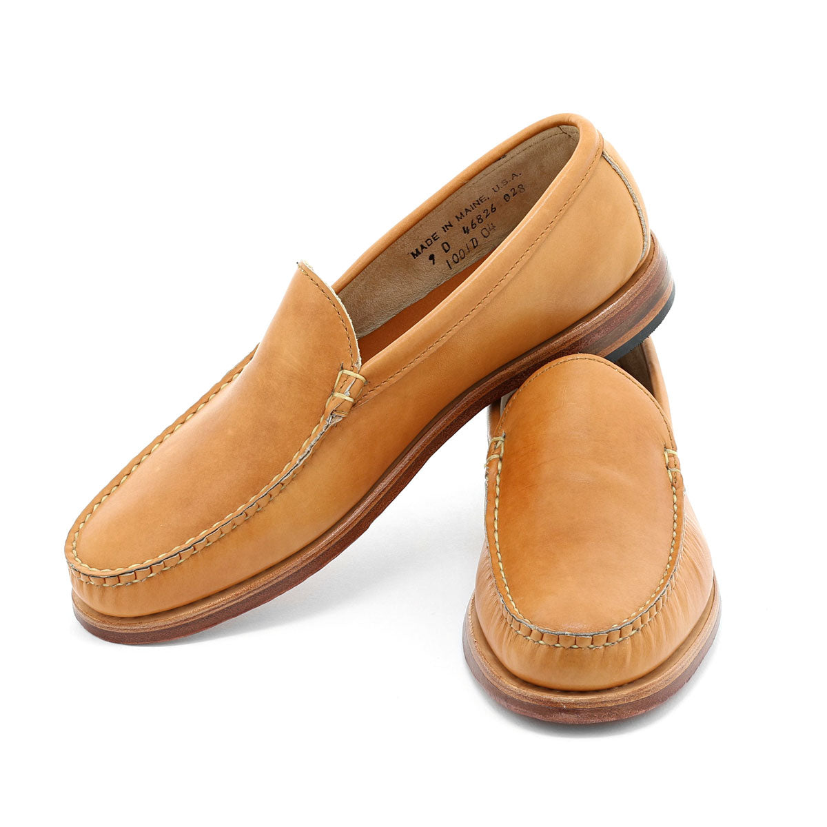 Dirigo Venetian Loafer - Natural Burnished Calf