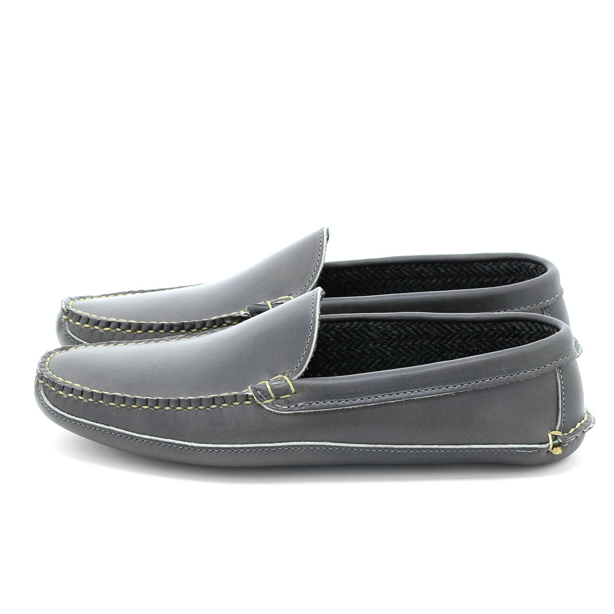 Venetian Slipper - Gray Chromexcel