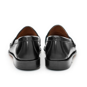 Women's Horsebit Loafers - Black Calf