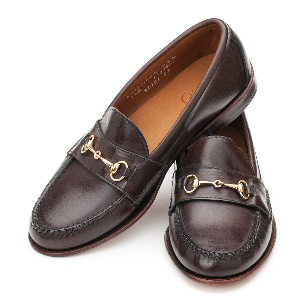 Women's Horsebit Loafers - Dark Brown Calf